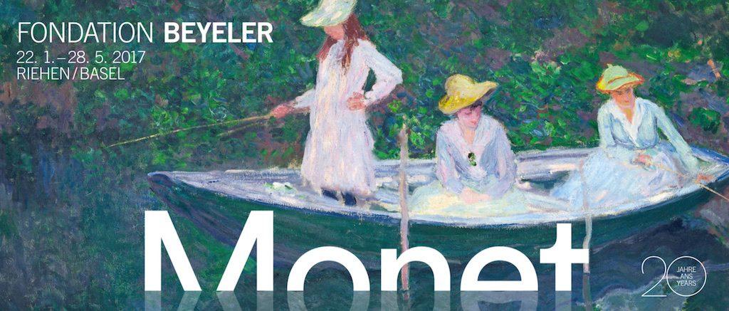 Poster for Monet exhibition at Fondation Beyeler 20170122-20170528